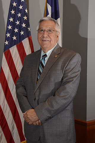 Commission Chair Eliseo Cantu