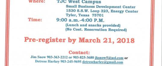 Tyler Veterans Entrepreneurship Boot Camp