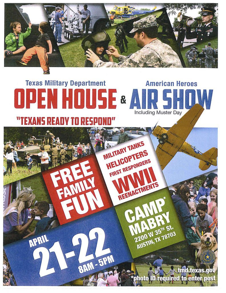 Texas Military Department Open House & American Heroes Air Show