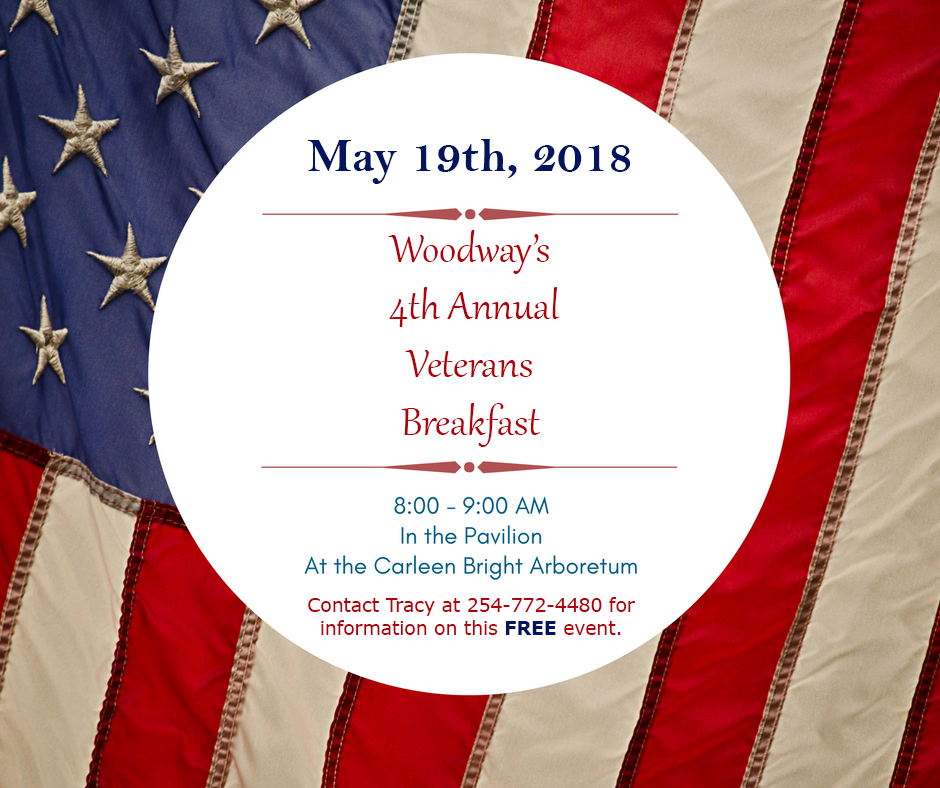 May The 4th Be With You Wichita: 2018 Woodway Veterans FREE Breakfast