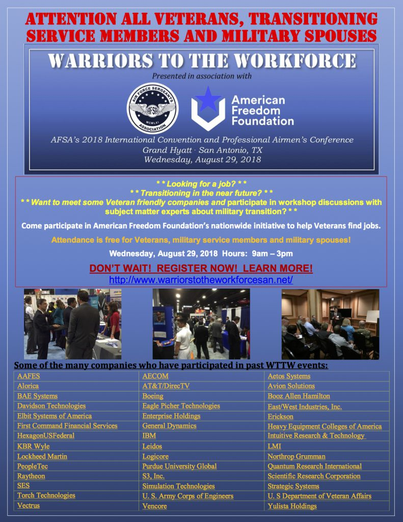 warriors to workforce