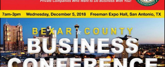 SMWVBO 2018: Bexar County Business Conference