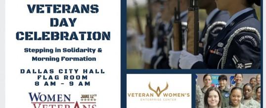 Women Veterans Day Dallas, TX 12 June 2018