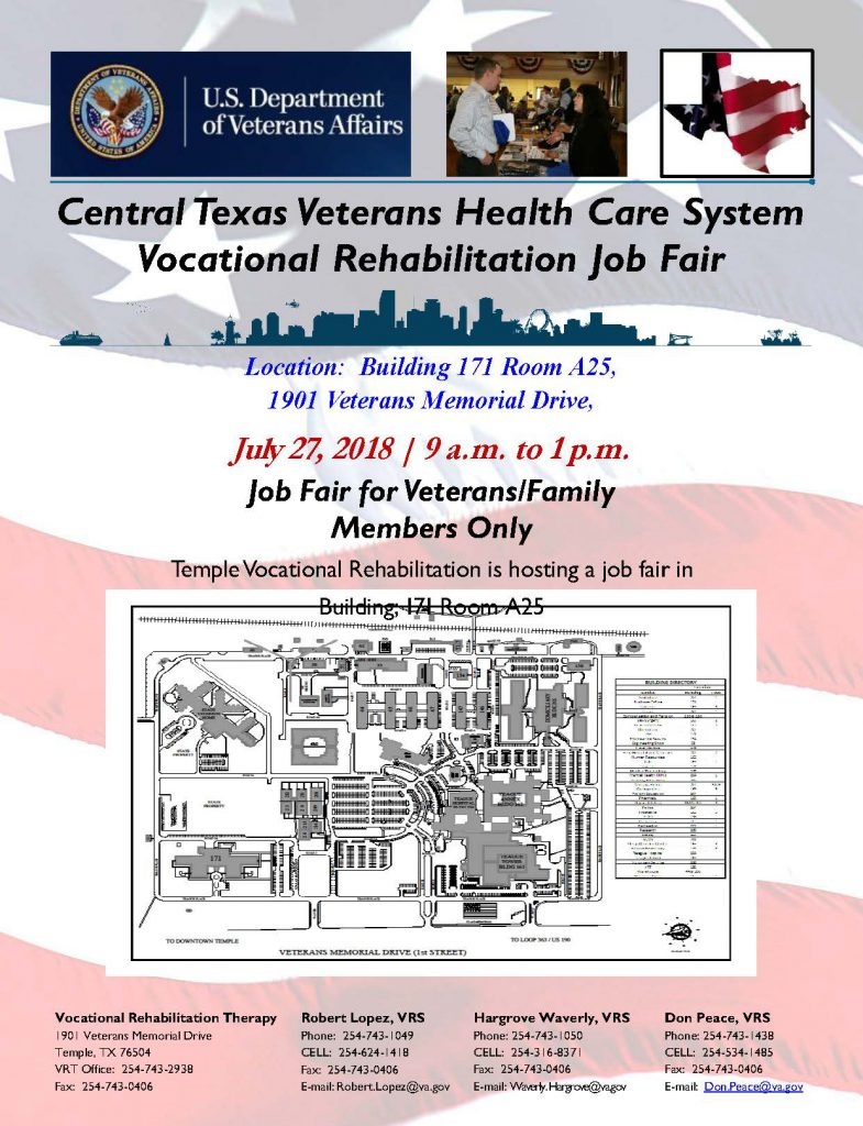 Central Texas Health Care System Vocational Rehabilitation