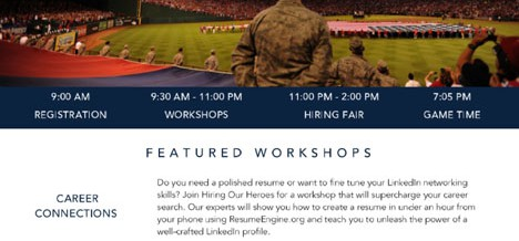 Arlington, Texas Hiring Our Heroes Military Hiring Event