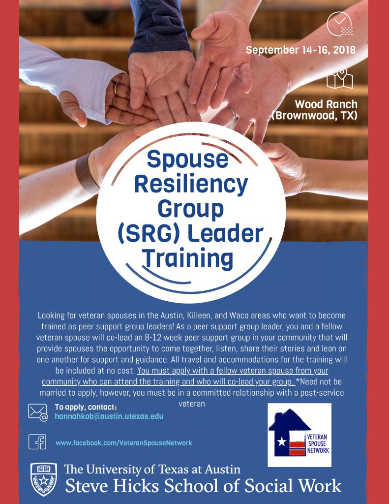 Spouse Resiliency Group Leader Training
