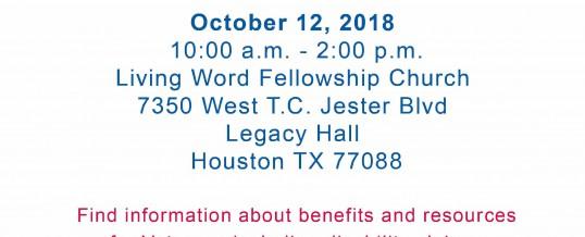North Houston Veteran Resource Fair