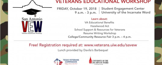San Antonio Veterans Educational Workshop