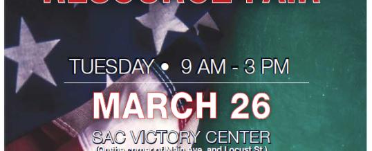 SAC Veterans Resource Fair