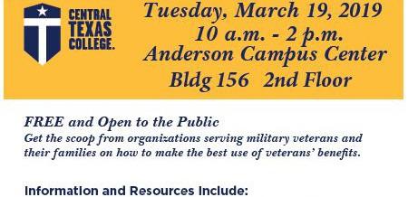 Central Texas College Veterans Benefits Expo