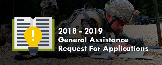 2018-2019 General Assistance Grant Request For Applications