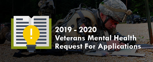 2019-2020 Veterans Mental Health Grant Request For Applications