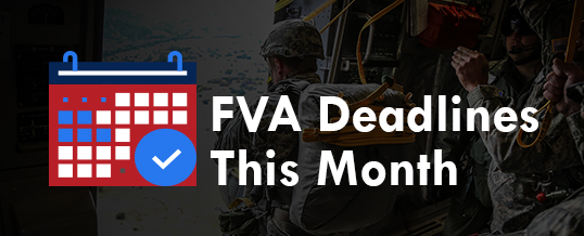 May 2019 Deadlines For FVA Grantees