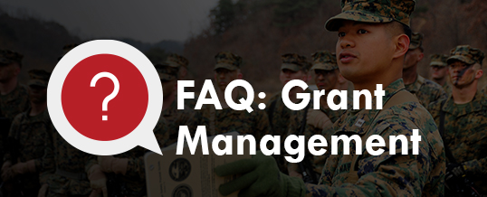Grant Management FAQ: Expectations for Grantees and Applicants