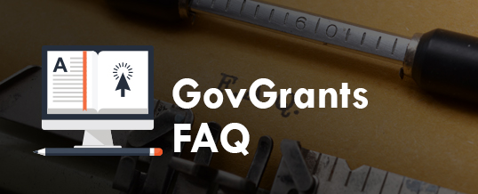 GovGrants FAQ: How To Edit Your Profile