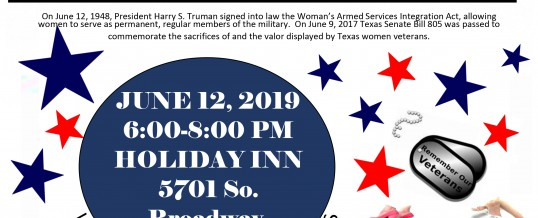 Tyler, Texas Celebrating Woman [Veterans Day Event]
