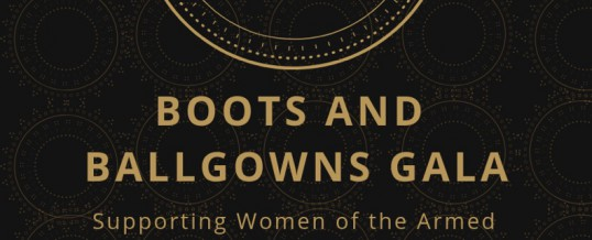 Boots and Ballgowns Gala: Celebrating Women War Heroes