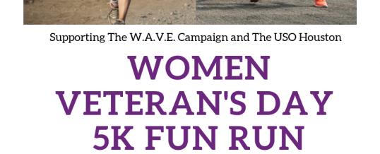 Women Veteran's Day 5K Fun Run