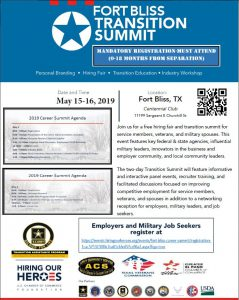 El Paso transition summit flyer