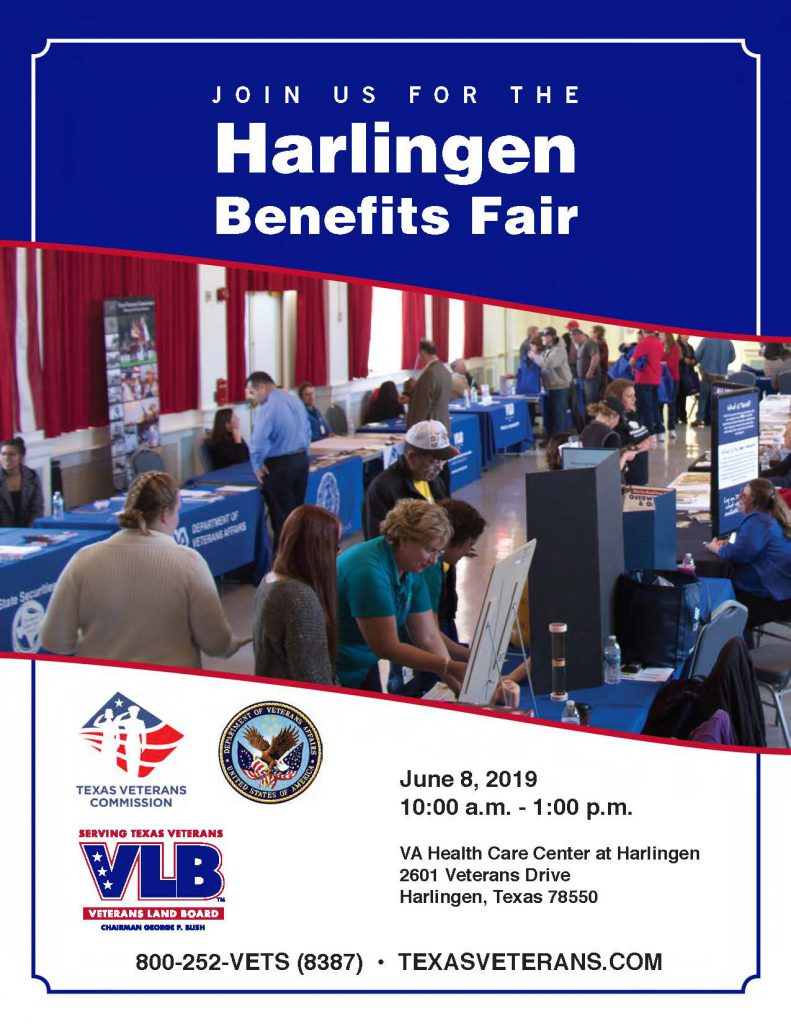 Harlingen Benefits Fair - Texas Veterans Commission