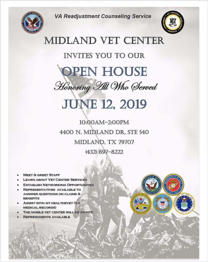 Midland Vet Center - Open House - Texas Veterans Commission