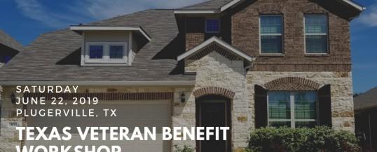 Texas Veteran Home Buying Benefit Workshop