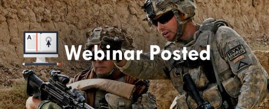 Recent Webinars Posted for Grantees, VCSOs, Applicants