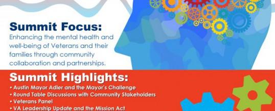 Austin VA Community Mental Health Summit