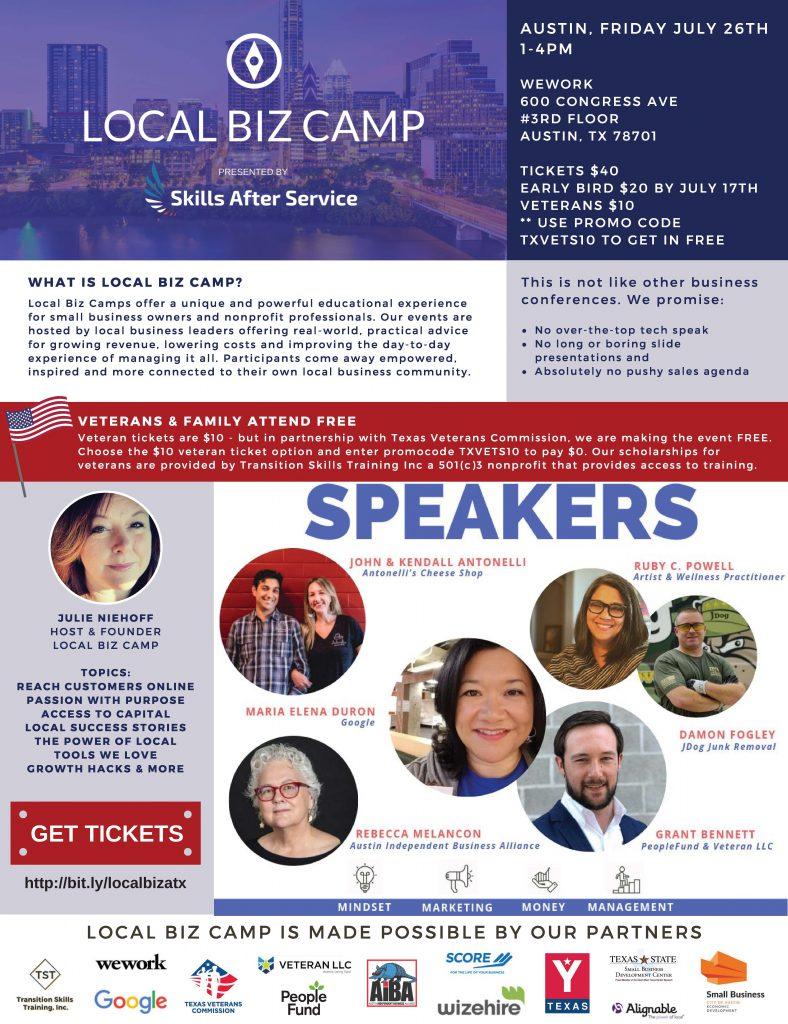 Local Biz Camp - Texas Veterans Commission