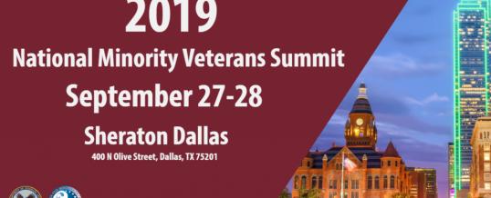 2019 National Minority Veterans Summit