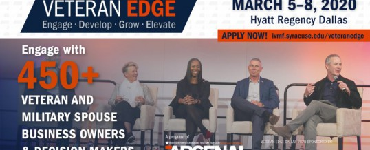 3rd Annual Veteran EDGE (Engage, Develop, Grow, Elevate) Conference (Dallas)