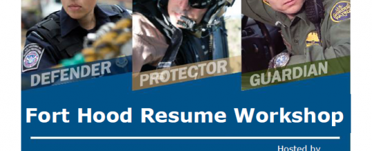 Fort Hood Resume Workshop