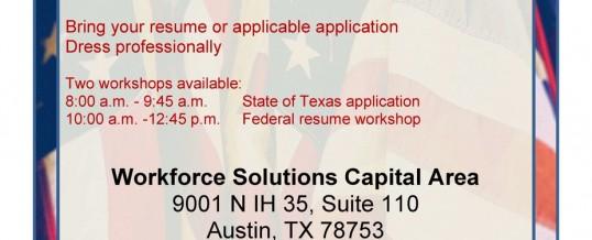 Veterans in Government Career Fair