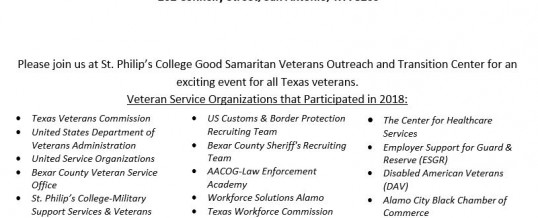 2019 Veterans Service Fair