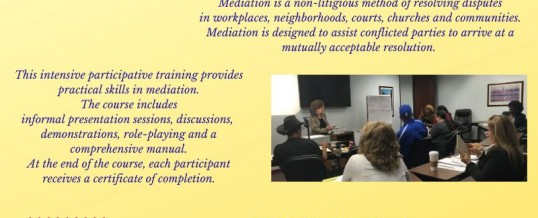 Houston: 40-hour Basic Mediation Training