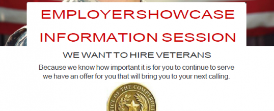 Employer Showcase Information Session