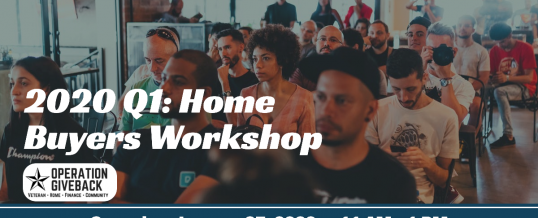2020 Q1: Home Buyers Workshop