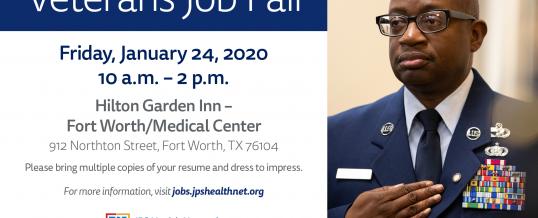 FT Worth, Texas-Veterans Job Fair
