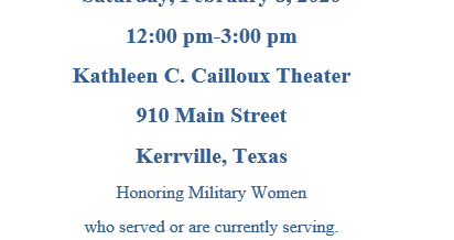 Salute to Women Veterans