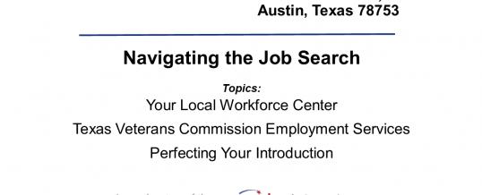 Veterans Employment Preparation Workshop