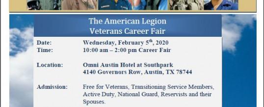American Legion Veterans Career Fair