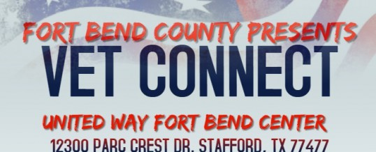 Fort Bend County Presents VET CONNECT