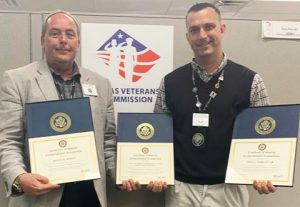 El Paso Veteran Employee Liaison Kevin Bowes and District Outreach Coordinator Don Parrot
