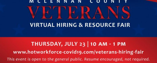 Veterans Virtual Hiring & Resource Fair