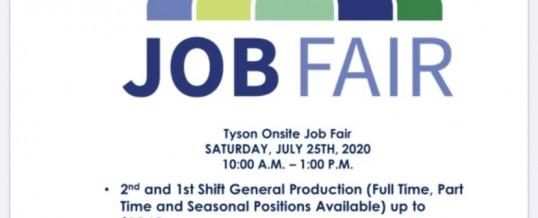Tyson Career Fair On-Site (Seguin, TX)