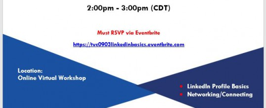 Virtual Veterans Workshop (LinkedIn Basics)
