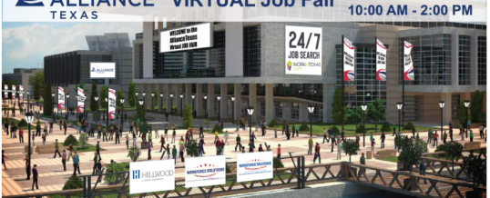AllianceTexas Virtual Job Fair