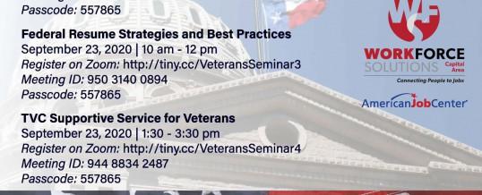 Veterans Employment Workshops