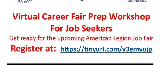 Virtual Career Fair Prep Workshop for Job Seekers