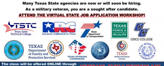 State Job Application Workshop